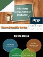 Conferencia Lecciones Inconquistables de Liderazgo