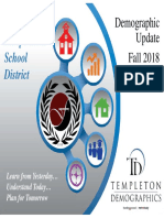 Fall 2018 Demographers Report - Forney ISD