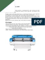 Laser Cutting Machine 1390K