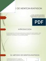 Metodo de Newton-raphson