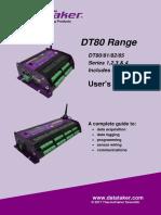 UM-0085-B11E - DT8x Users Manual