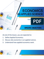 2 Economic as Applied Science