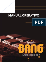 manual operativo de productos de chocolates