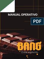 manual operativo de productos de chocolates