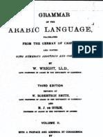 A Grammar of the Arabic Language Vol 2