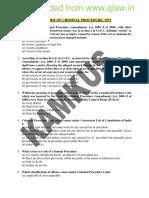 MCQ THE CODE OF CRIMINAL PROCEDURE, 1973-qlaw.inbn.pdf