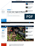 A New War Rages in Myanmar - Asia Times