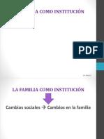 Familia. Aspectos Históricos y Antropológicos
