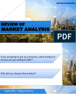 5 Review of the Market Analysis (Supply)