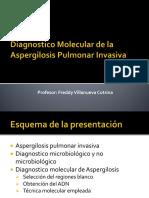 Dx Molecular de Aspergilosis Pulmonar Invasiva