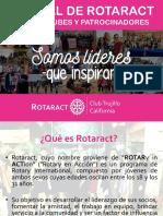 Manual Rotaract - RTC Trujillo California