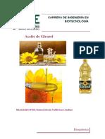 Aceite de Girasol