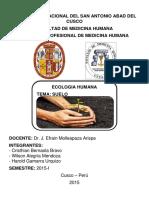 Monografia ecologia