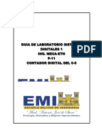 EMI - GUIA LAB 11 SistemasDigitales1-MECA-ETN (Contador Digital de 0-9)