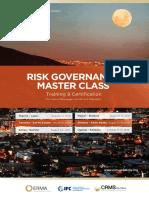 Masterclass on risk governance