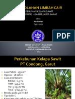 Limbah_Cair PT. Condong Garut