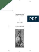 Tertullianus Apology