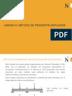 9. Unidad IV. Método de Pendiente-Deflexión, 14p