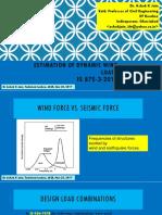 Prof Ashok Jain - Estimation of Dynamic Wind Loads