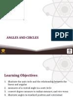 (11) Angles and Circles