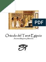Oraculo Del Tarot Egipcio