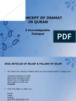 The Concept of Imamat in Quran
