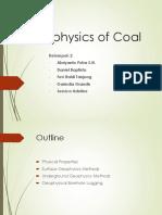 Geophysics of Coal (KELOMPOK 2)