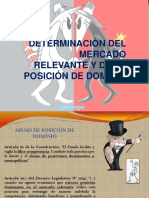 MERCADO RELEVANTE POSICION DE DOMINIO.pptx