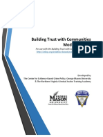 Building Trust Modules Guide
