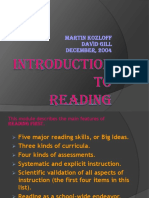 Introduction to Reading First.ppt