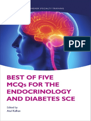 Best of Five MCQs for the Endocrinology and Diabetes SCE 1st Edition