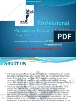 Professional Packers And Movers  Pvt.Ltd.