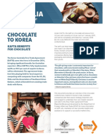Korea America free Trade Agreement and Chocolate