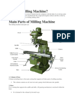What is Milling Machine