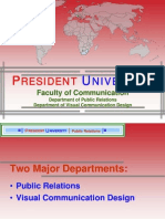 PROFILE OF FACULTY OF COMMUNICATION - PRESIDENT UNIVERSITY