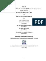 Seminar Report on HAL TEJAS(1)