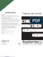 Sansamp Psa 1.1 Manual