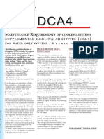 DCA4 Maintenance Requirment