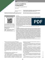 Criterios Restrictivos y Leberales en Anestesiologia