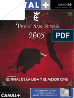 Revista Digital+ Mayo 2005
