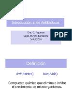 Introducción a Los Antibióticos.julio 2016 (1)
