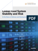 Global Food System Stability and Risk