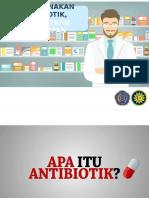 Penyuluhan Bijak Gunakan Antibiotik