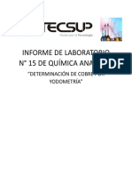 Informe 15 - Ana