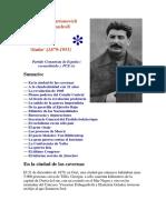Biografía de José Stalin