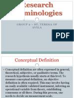 Research Terminologies Grp 2
