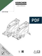 Manual Fregadora Kaercher Con Acompañante