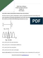 12 Physics Exemplar Ch10 Mcq2