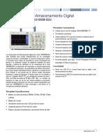 Serie TBS1000B-EDU Folleto Técnico