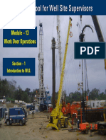 Introduction to WorkOver Operations